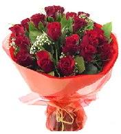 12 adet görsel bir buket tanzimi  Ankara Sincan 14 şubat sevgililer günü çiçek
