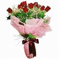 Ankara Sincan online çiçek gönderme sipariş  12 adet kirmizi kalite gül