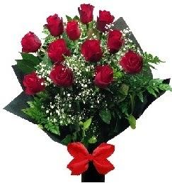 11 adet kırmızı gülden buket  Ankara Sincan çiçekçi mağazası