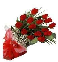 15 kırmızı gül buketi sevgiliye özel  Ankara Sincan çiçek , çiçekçi , çiçekçilik