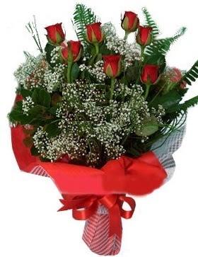7 kırmızı gül buketi  Ankara Sincan online çiçekçi , çiçek siparişi
