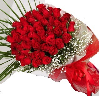 51 adet kırmızı gül buketi  Ankara Sincan çiçek , çiçekçi , çiçekçilik