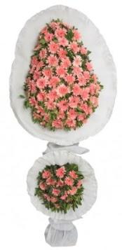 Çift katlı düğün açılış nikah çiçeği modeli  Ankara Sincan hediye çiçek yolla