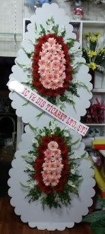 Çift katlı düğün nikah açılış çiçeği  Ankara Sincan çiçek , çiçekçi , çiçekçilik