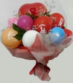 Benimle Evlenirmisin balon buketi  Ankara Sincan çiçek servisi , çiçekçi adresleri