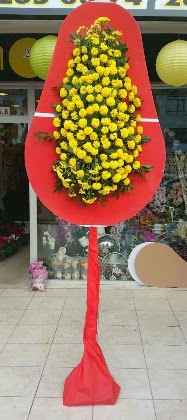 Çiçek siparişi Ankara Sincan anneler günü çiçek yolla  Tek katlı düğün nikah çiçeği