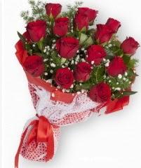 11 adet kırmızı gül buketi  Ankara Sincan çiçek online çiçek siparişi