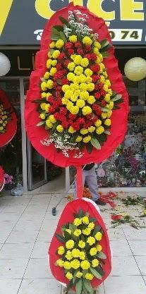 Çift katlı düğün nikah açılış çiçeği  Ankara Sincan kaliteli taze ve ucuz çiçekler