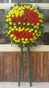 Cenaze çelengi çiçek modeli  Ankara Sincan çiçek yolla , çiçek gönder , çiçekçi