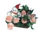 Çiçek siparişi Ankara Sincan anneler günü çiçek yolla  Sepette  oyuncakli antoryumlar