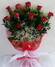 11 adet kırmızı gülden görsel çiçek  Ankara Sincan çiçek siparişi sitesi