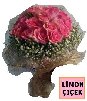 Pembe gül kız isteme söz nişan çiçeği  Ankara Sincan hediye çiçek yolla