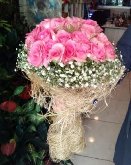 33 adet pembe gül nişan kız isteme buketi  Ankara Sincan çiçek , çiçekçi , çiçekçilik
