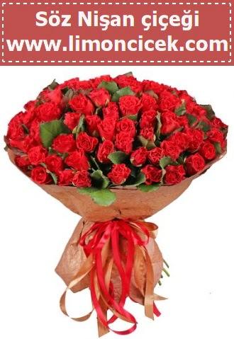 Kız isteme söz nişan çiçeği 101 gül  Ankara Sincan çiçek , çiçekçi , çiçekçilik