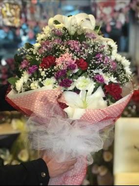 Mevsim kır çiçeği orta boy  Online Ankara Sincan çiçekçiler