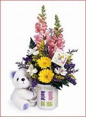 Ankara Sincan hediye sevgilime hediye çiçek  Kupa bardak ayicik ve çiçek